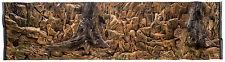 3D Aquarium Terrarium Decor Back Panel Struckturrückwand Tree Roots Stones Rocks