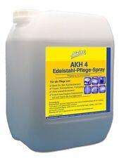 10 L Edelstahlpflege Spray inklusive leerer 1L Nachfüllflasche mit Sprühaufsatz
