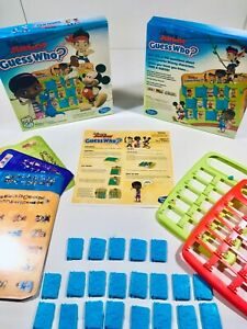 Game Parts/Pieces for Disney Junior GUESS WHO? Doors Frames Inserts Instructions