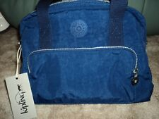KIPLING DANIA HANDBAG - INK BLUE US - there is no monkey with this bag
