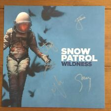 Snow Patrol - Wildness Lithograph Signed Autographed Not Cd Or Vinyl