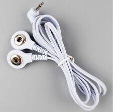 2in1 Reizstrom Elektroden Kabel 2.5mm (Druckknopf) | EMS / TENS / E-STIM / ESTIM