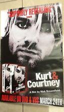 Kurt Cobain / UK Promo Poster for the Nick Broomfield film Kurt & Courtney