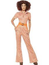 70er Dancing Queen Anzug Chic Hosenanzug Kostüm Damen M