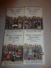 Complete War for the Union 4 Volumes 1861-1865 by Allan Nevis 1971 PB Military