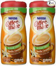 Nestle Coffee Mate SUGAR FREE Vanilla Caramel Powdered Creamer (10.2 oz) 2 Pack