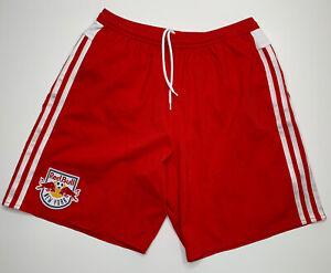 Adidas x New York Red Bulls Home Kit AdiZero Lined Shorts - M