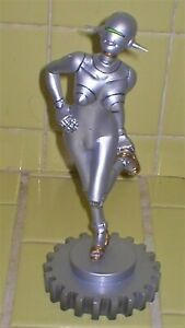 """FEMALE SEXY ROBOT """"SORAYAMA"""" RESIN MODEL KIT 8 INCHES TALL WITH BASE"""