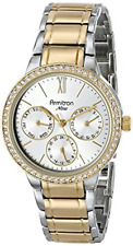 Armitron Women's 75/5235SVTT Swarovski Multi-Function Two-Tone Bracelet Watch