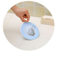 Kitchen Sink Drain Silicone Hair Strainer Shower Filter Bathroom Stopper Catcher