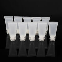 10pcs 15ml Refillable Bottles Container Cream Empty Body Lotion Tube Toothpaste