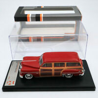 Premium X Dodge Coronet Woody Wagon 1949 Bordeaux PRD563 1/43 Limited Diecast