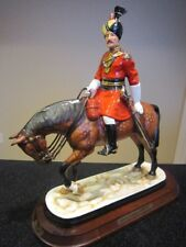Michael Sutty porcelain figurine - Officer of 18th Bengal lancer, 1900 uniform