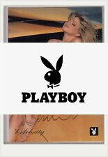 Donna D/'Errico RARE 1995 Official Donna D/'Errico Playboy Signing Card signed