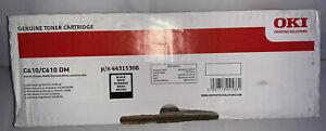 Genuine OKI 44315308 Black Toner Cartridge 8000pages - BRAND NEW