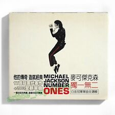 Michael Jackson Number Ones Taiwan CD BOX Greatest Hits Best Black Or White 2003