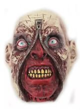 ZOMBIE ZIPPER BLOOD DEAD HALLOWEEN MASK HORROR SCARY FANCY DRESS COSTUME PARTY