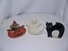 LONGABERGER HALLOWEEN PARTY TREAT DISHES  - NEW