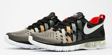 "NIKE FINGERTRAP MAX LE ""FOOTBALL KINGDOM: ANACONDA"".. BLACK/ SILVER.. SIZE 9"
