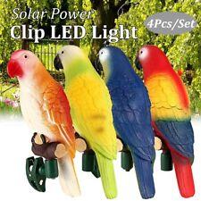 Bird Parrot Lamp Solar Power LED Light Outdoor Garden Landscape Night Lamp Decor