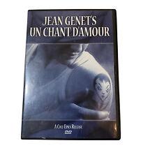 Un Chant D'Amour (DVD) Jean Genet, Andr Reybas, Lucien Senemaud, RARE OOP!