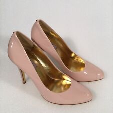 Ted Baker Pink Patent Stiletto Shoes 8 39