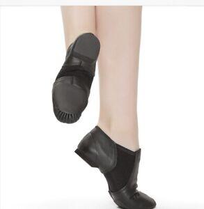 Revolution Bloch Childs Size 12 Black Stretch Jazz Boot NEW