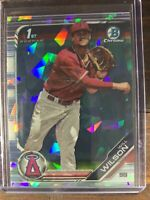 Will Wilson 1st Bowman Baseball Card #BDC-182 Chrome Sapphire LA Angels RC MLB