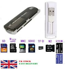 All in 1 USB Multi Card Reader Micro SD TF M2 SD Memory Stick M2 MINI SD Card