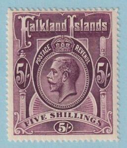 FALKLAND ISLANDS 38  MINT HINGED OG * NO FAULTS EXTRA FINE !