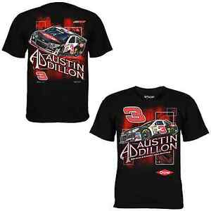 Austin Dillon 2014 Chase Authentics #3 Dow Automotive Burnout Tee FREE SHIP