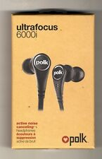 POLK AUDIO ULTRAFOCUS 6000i ACTIVE NOISE CANCELING HEADPHONES