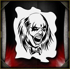 Clowns 14 Airbrush Stencil Template Paint Airsick