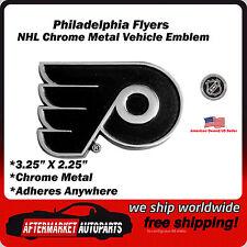 Philadelphia Flyers NHL Chrome Metal Car Auto Emblem Team Decal Logo Ships Fast