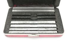 Starrett 384 Parallels Set Of 6 With Case No Etchings