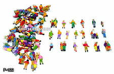 H0 Spur 1:87 Verschiedene Figuren Personen, Paaren und Dreiergruppen 50 Stück