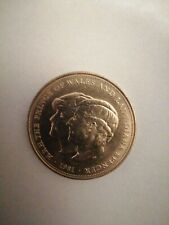 More details for 1981 h.r.h the prince of wales and lady diana spencer collectors coin
