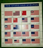 The Stars and Stripes MNH (Mint Never Hinged) US Commemorative Sheet Scott #3403