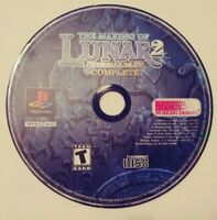The Making of Lunar 2 Eternal Blue Disc Only Ps1 Playstation One 1 Tested Rare
