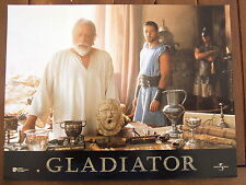 RUSSEL CROWE OLIVER REED PHOTO D' EXPLOITATION RIDLEY SCOTT 2000 GLADIATOR