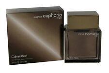Euphoria Intense Calvin Klein Men 3.4 OZ 100 ML Eau De Toilette Spray Nib Sealed