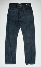 UNBRANDED Jeans 28x29 in Indigo Blue UB101 Skinny 14.5oz Selvedge Cotton Denim