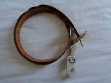 Womens Fossil Leather Belt Size M NEW WITH TAGS
