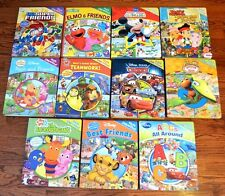 HUGE Set of 11 boy themed First Look and Find I Spy Padded Board books Disney