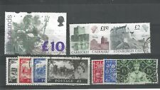 GB QUEEN ELIZABETH STAMP COLLECTION £10, CASTLES, CROWNING