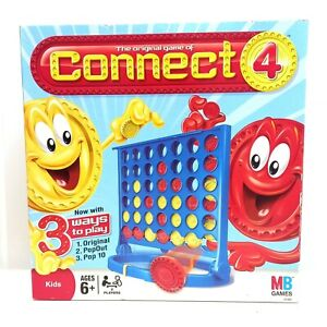 The Original Game of Connect 4 2009 3 Ways To Play Game Milton Bradley