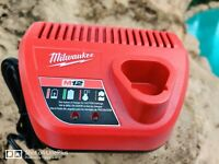Brand New Milwaukee M12 Lithium Ion 12 Volt Battery Charger 48-59-2401
