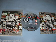 SLEEPING DOGS PLAYSTATION 3 PS3 COMPLET (envoi suivi)