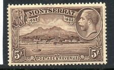 Montserrat 1932  GV 5s MNH SG93 Cat £110