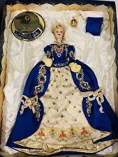 Faberge Imperial Elegance Porcelain Barbie Doll Exclusive Nrfb Blue Mib